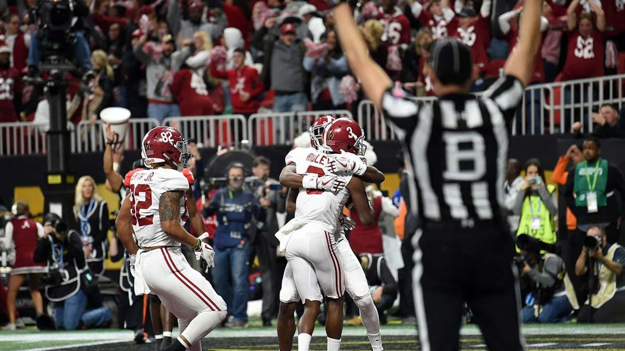 Alabama wins College Football Playoff National Championship in overtime