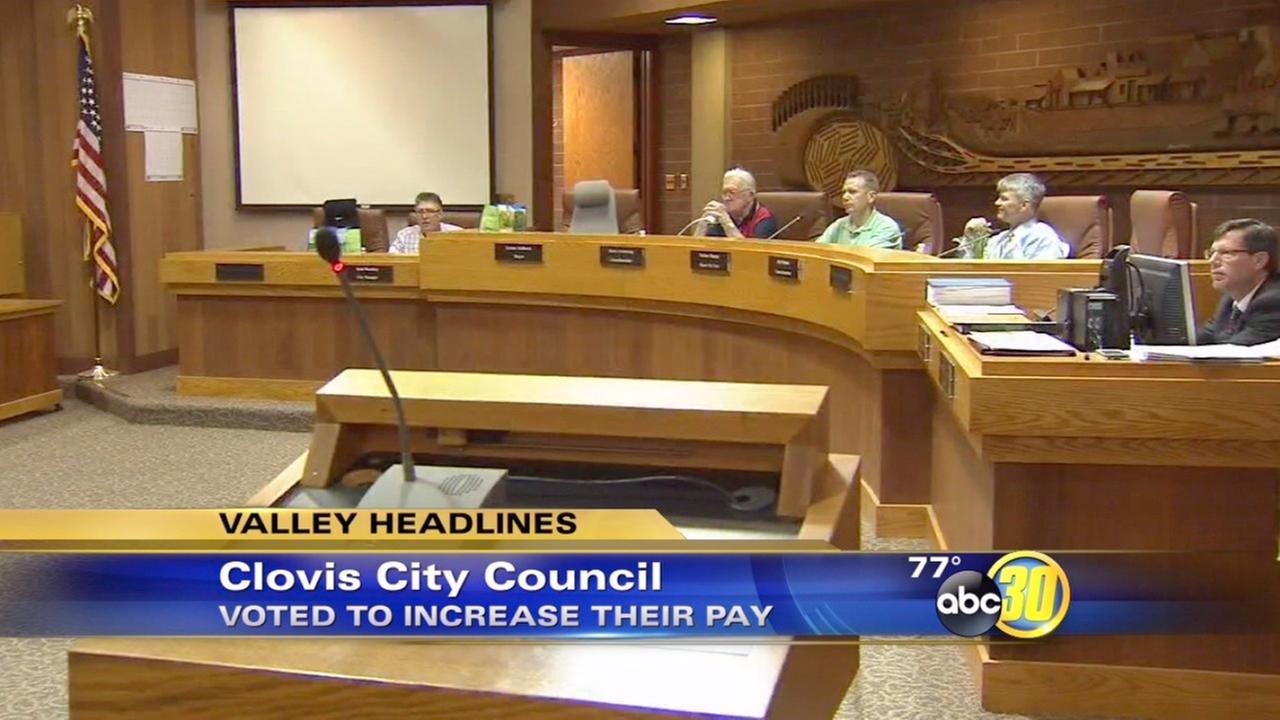 Clovis City Council raise