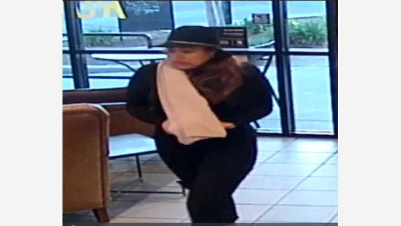 Recognize this woman in a scarf? Clovis Police say she's a fraud suspect