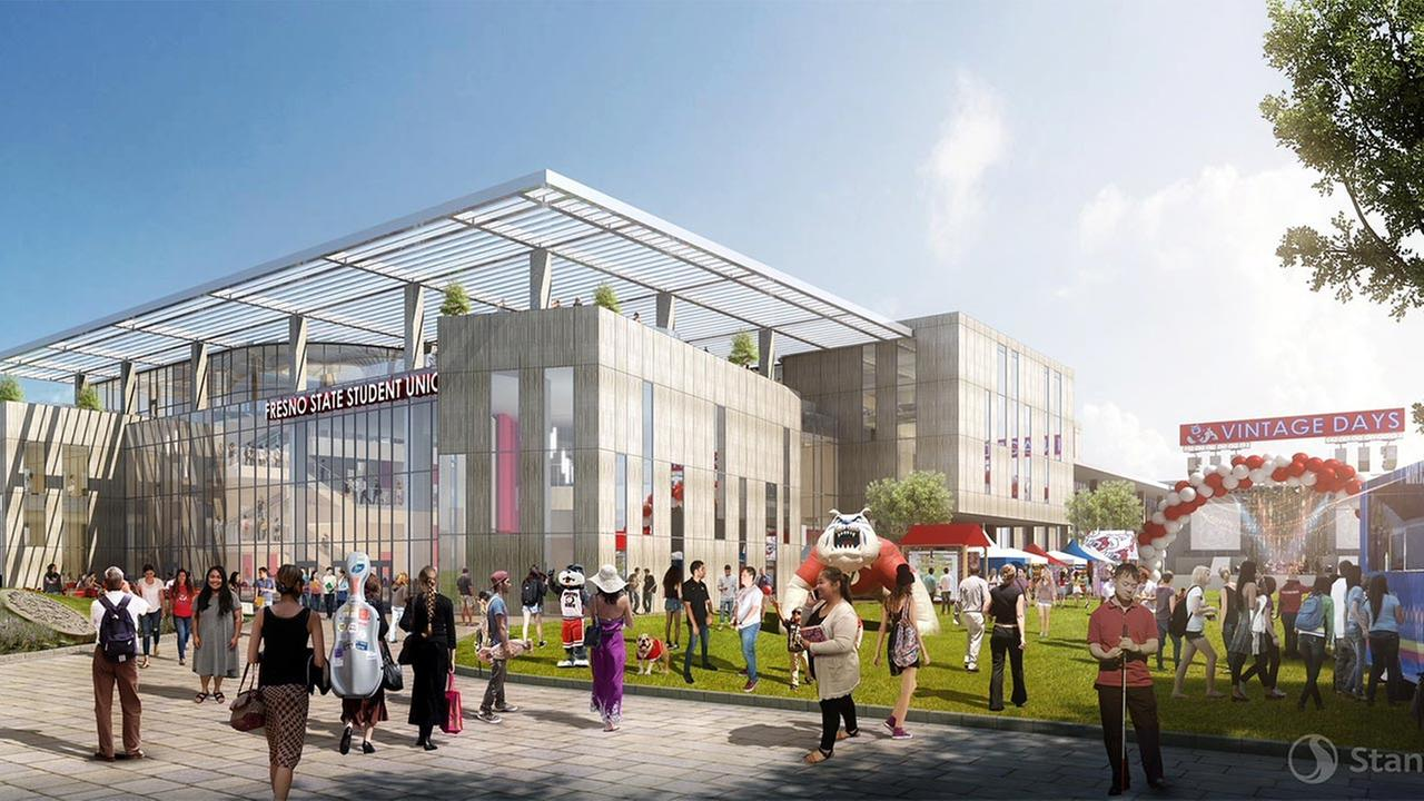 Fresno State students approve construction of new Student Union
