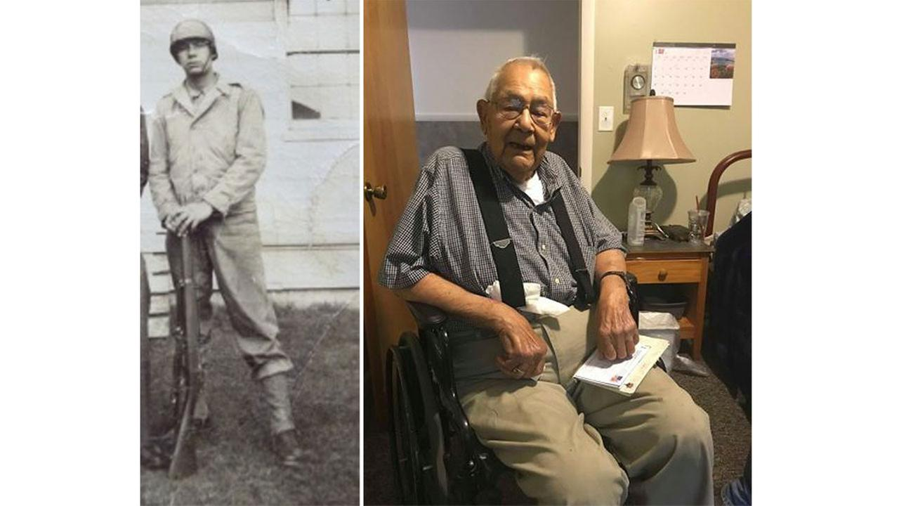 World War II veteran wishes for 100 cards for 100th birthday