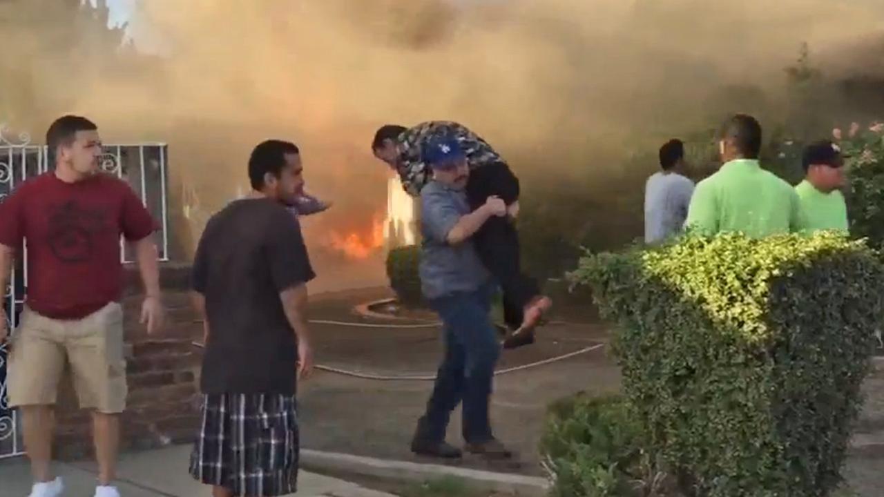 Central Fresno fire rescue