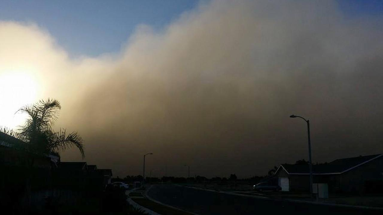Tulare dust