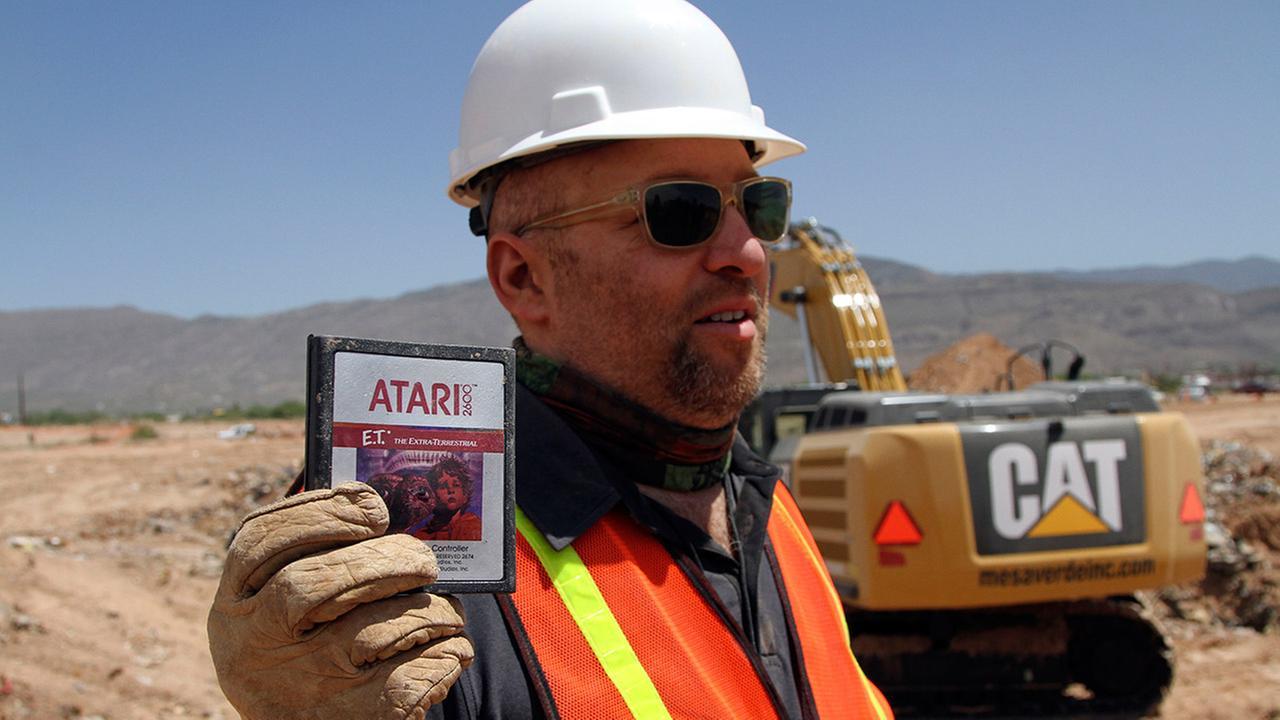 Atari games landfill