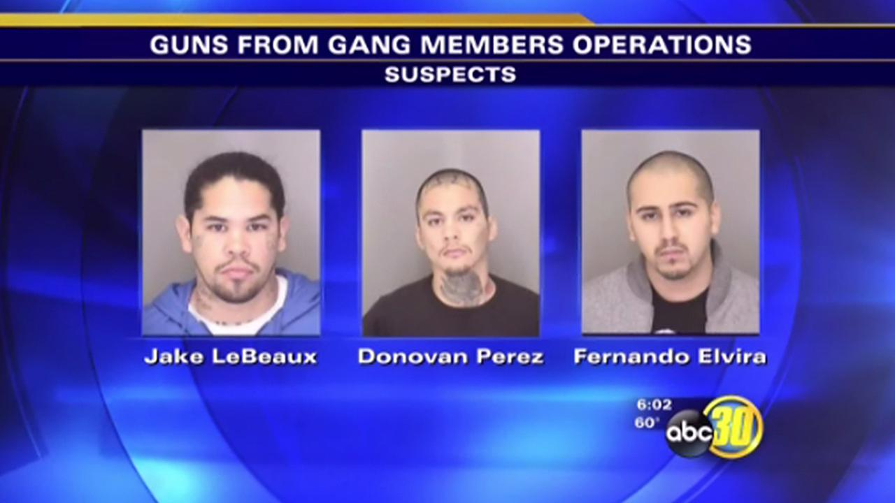 Atwater gang member weapons arrests