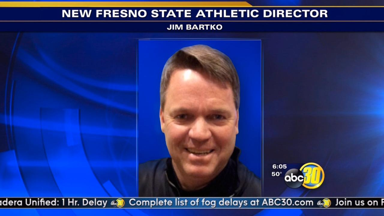 Jim Bartko will be Fresno States new athletic director