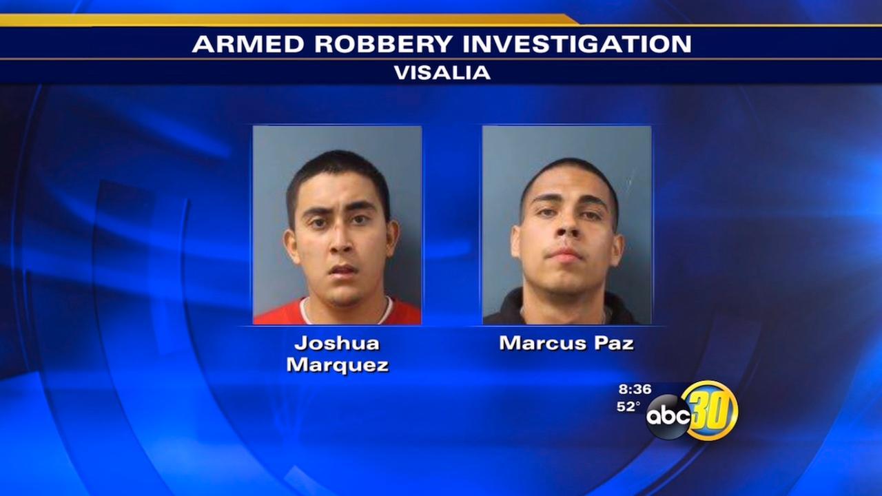 Visalia armed robbery