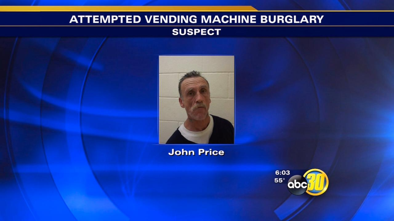 Madera vending machine theft