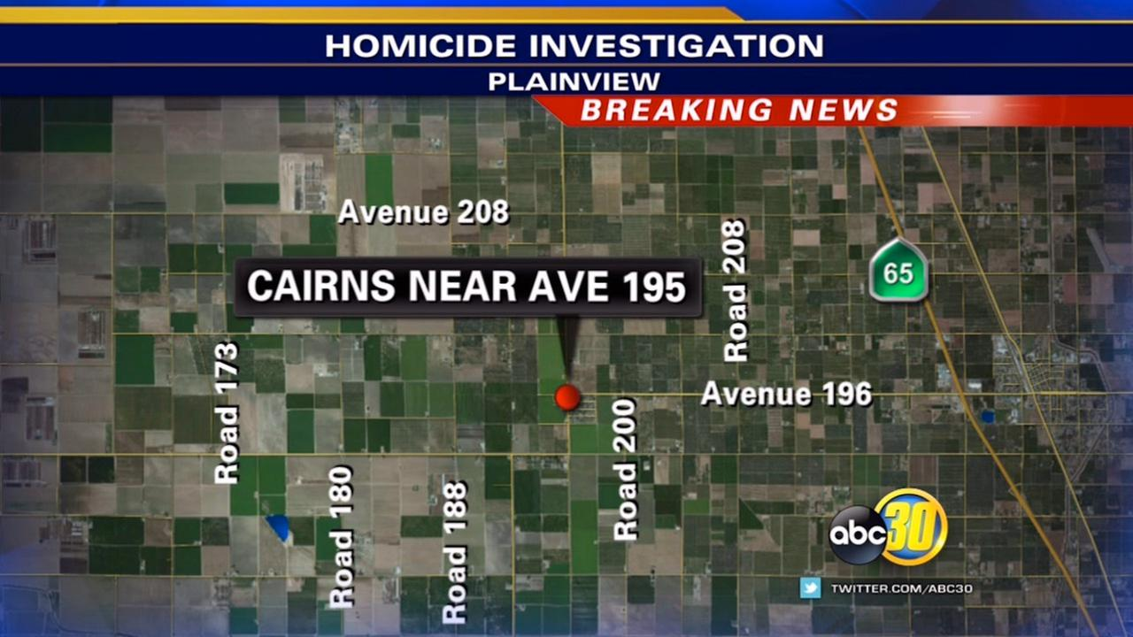 Tulare County homicide