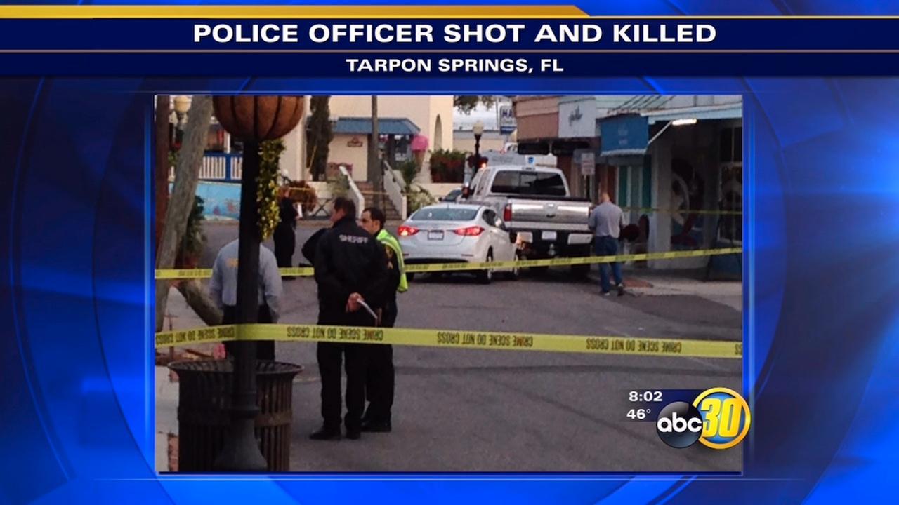 Florida cop killed