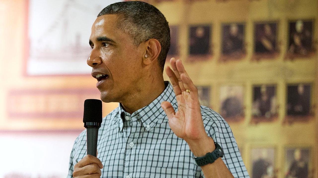 President Obama speaks in Hawaii
