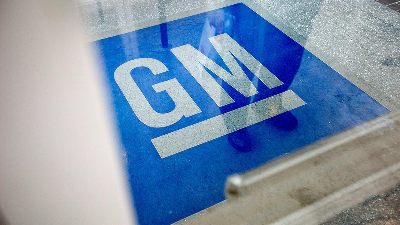 General Motors logo in Georgia