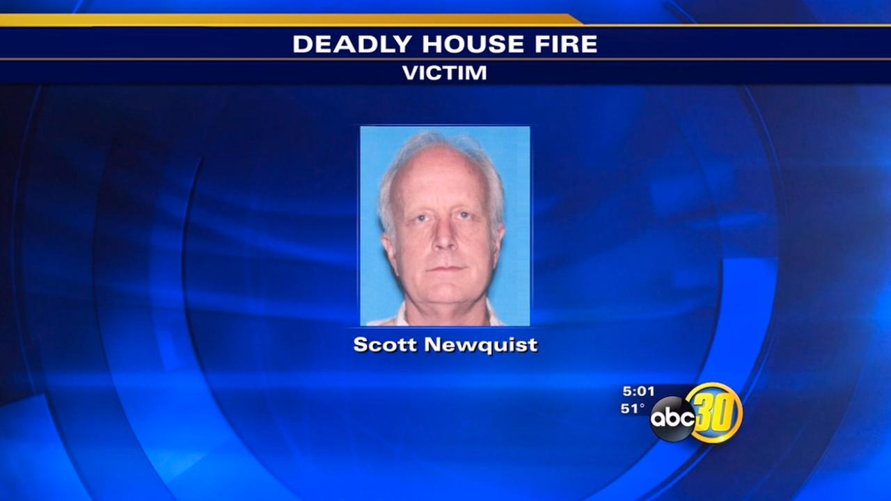 Man found dead inside burned home identified as Scott Newquist