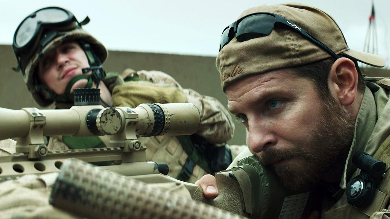 Image from American Sniper film