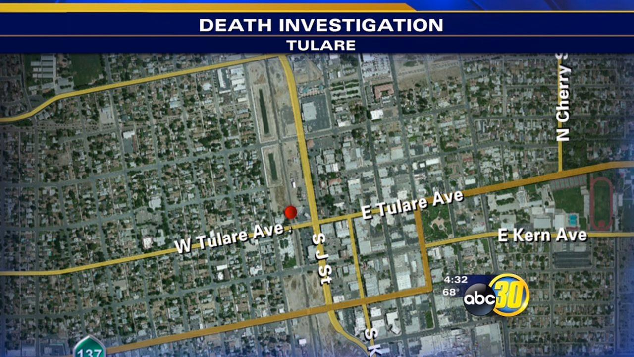 Man killed by train in Tulare