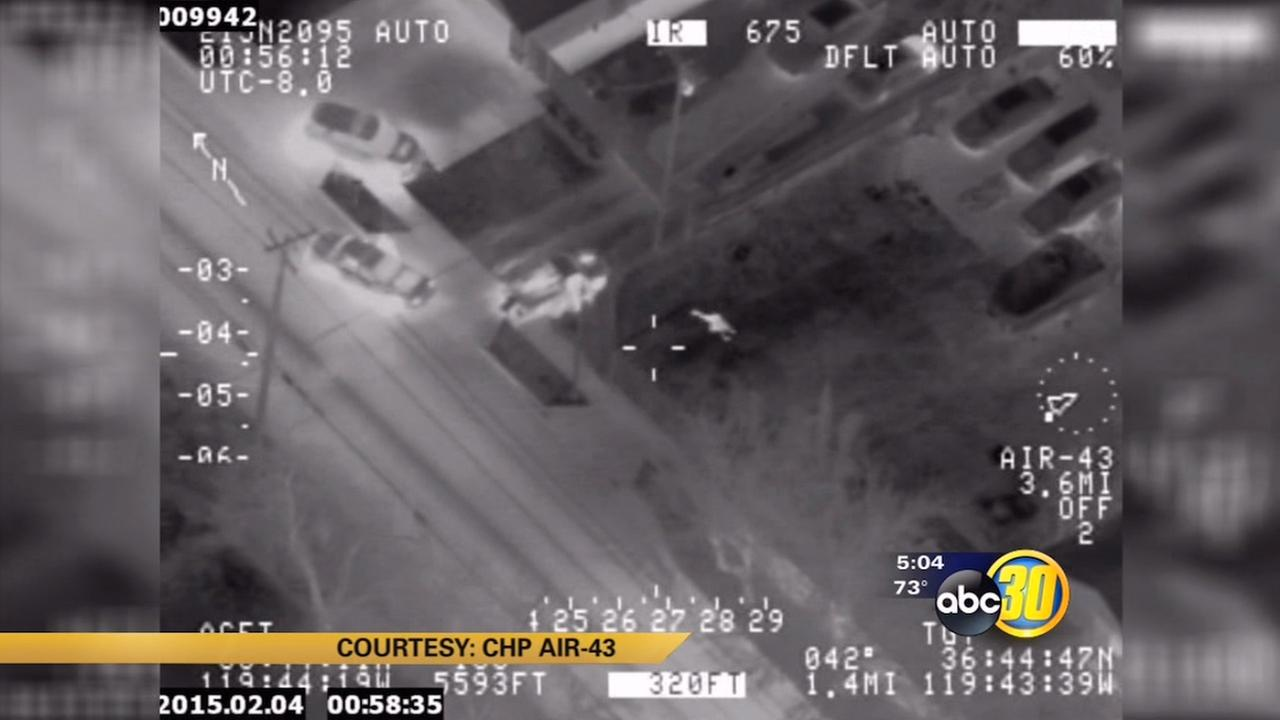 VIDEO: Fresno County deputies chase stolen truck