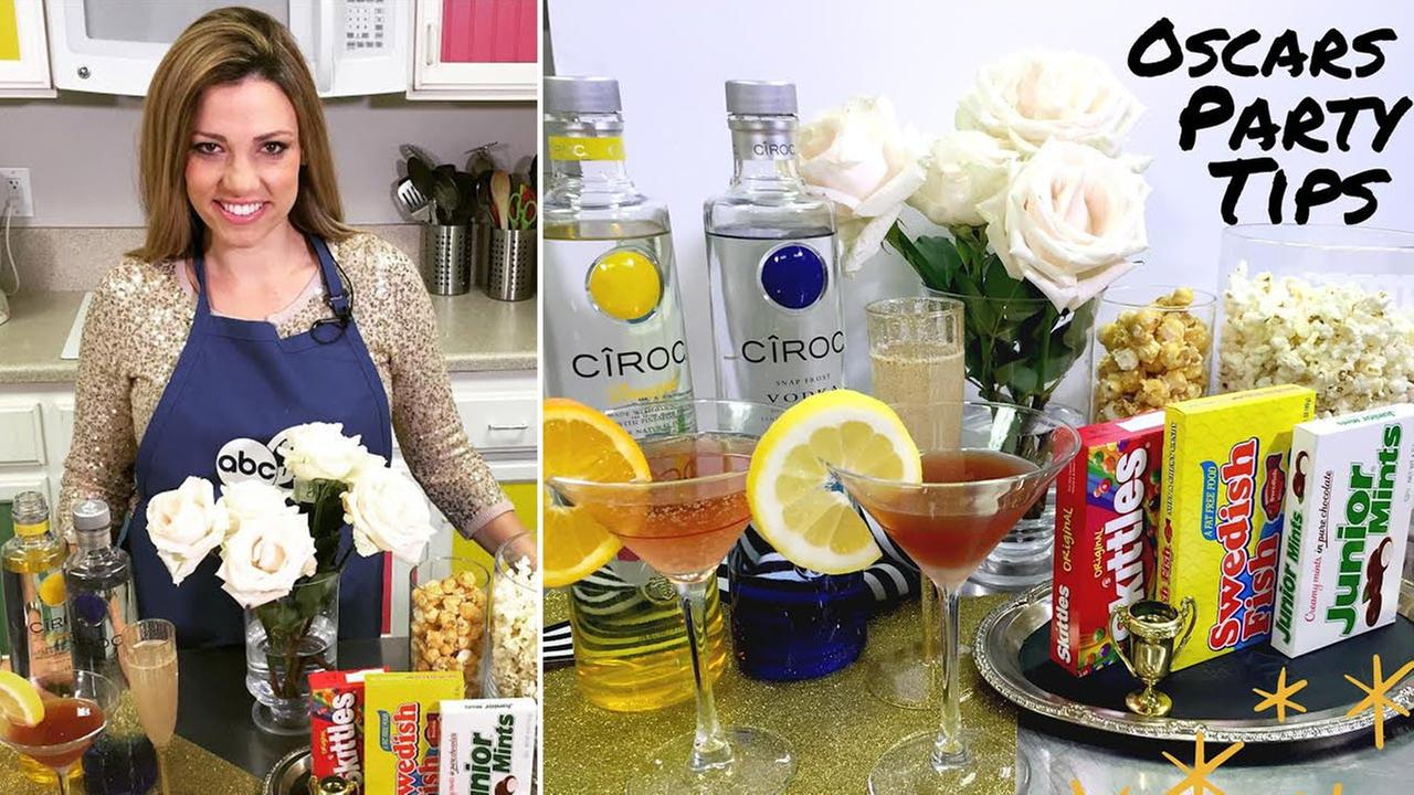 Chef Shayna Oscar party tips