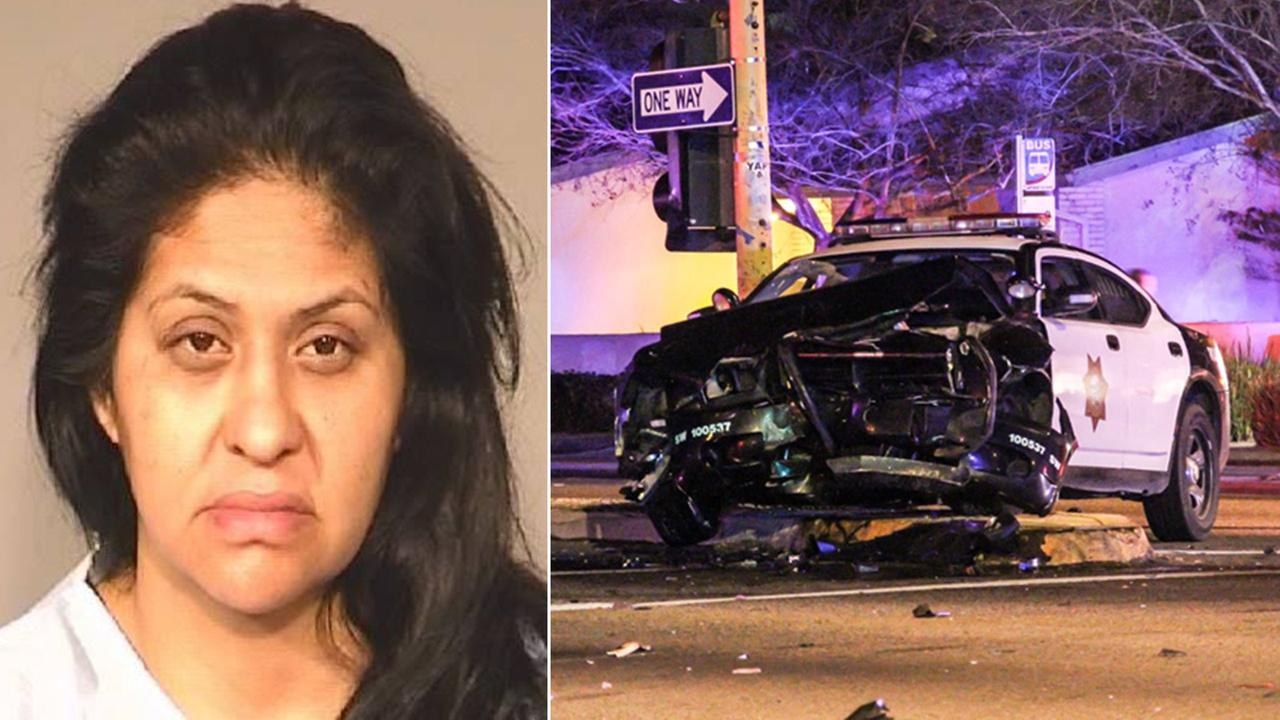 Regina Garcia, 41, was arrested on DUI charges after a crash in Northwest Fresno on Sunday, March 1, 2015.