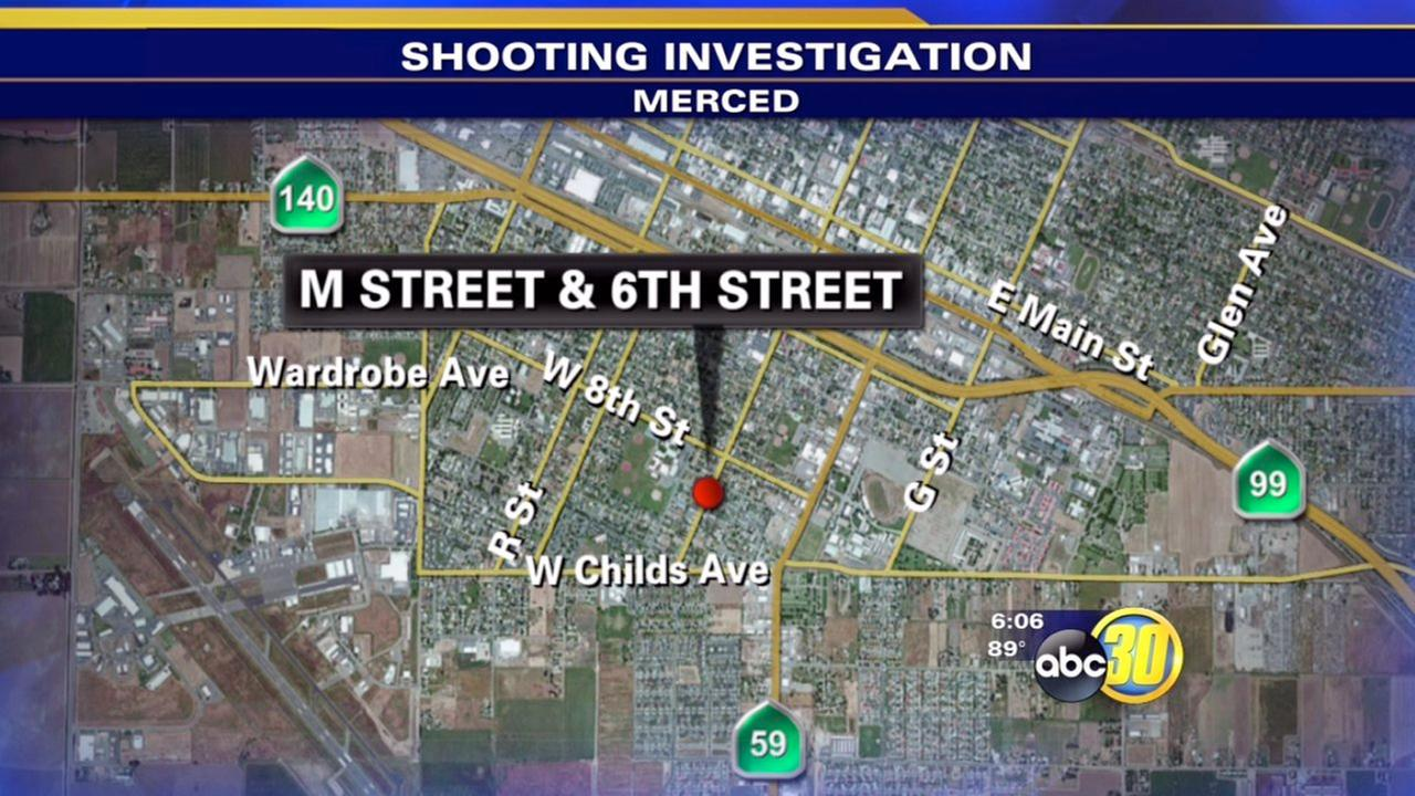 Shooting victim found in Merced parking lot