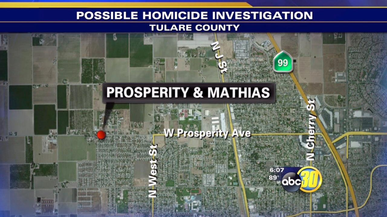 Authorities investigate possible homicide in Tulare County