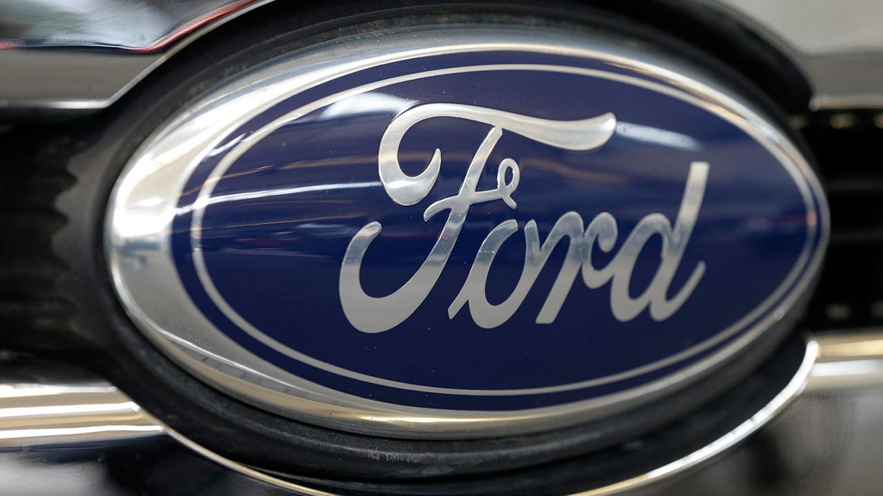 This photo taken on Feb. 14, 2013 shows the Ford logo.