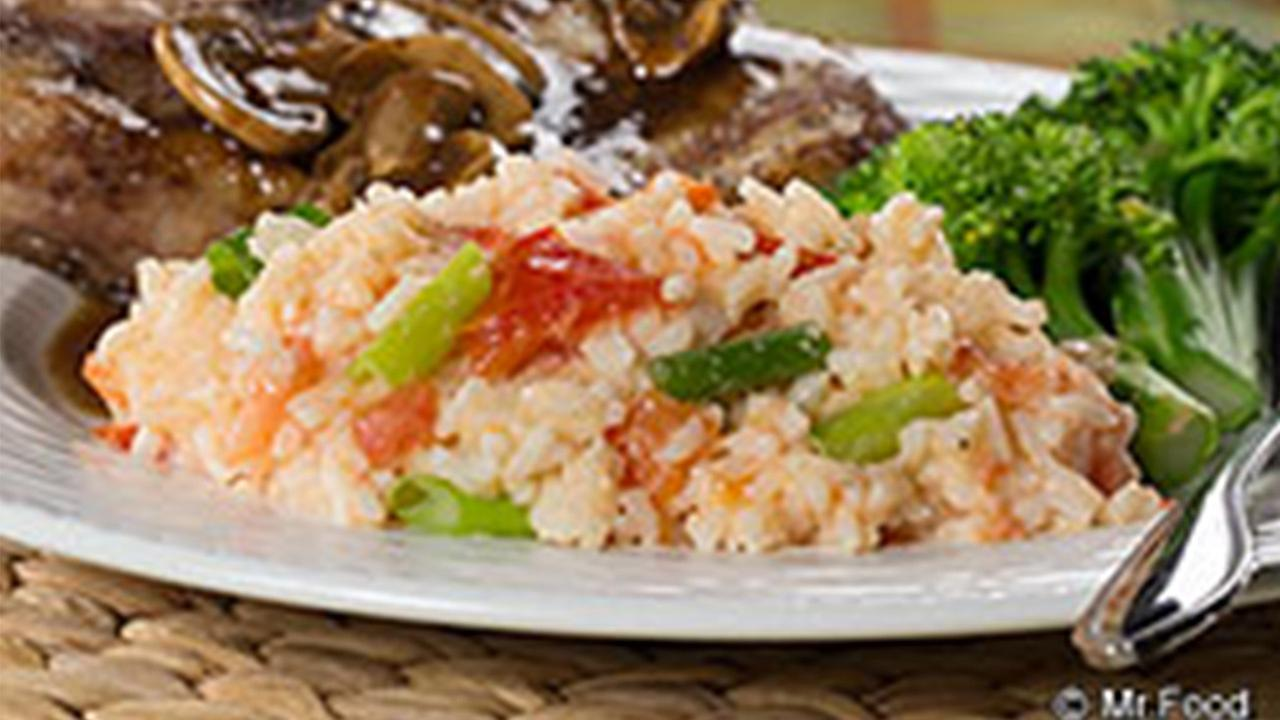 Garlic Skillet Rice recipe