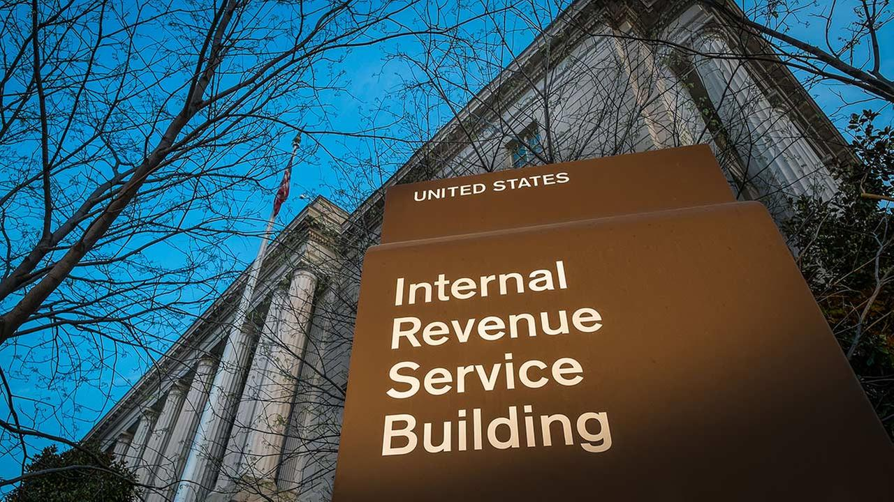 FILE -This April 13, 2014 file photo shows the headquarters of the Internal Revenue Service (IRS) in Washington.