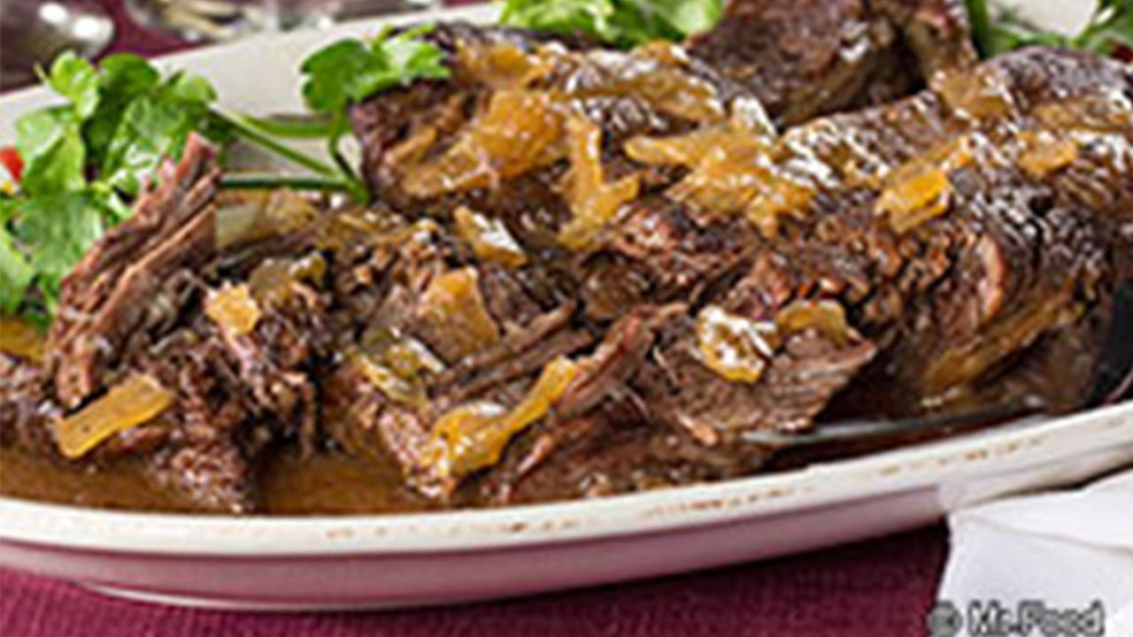 Newlyweds Pot Roast recipe