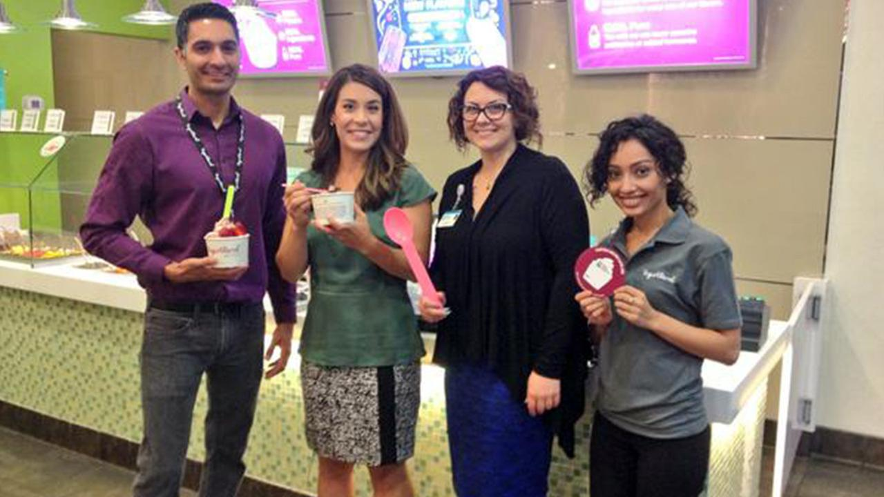 Fresno Yogurtland fundraiser