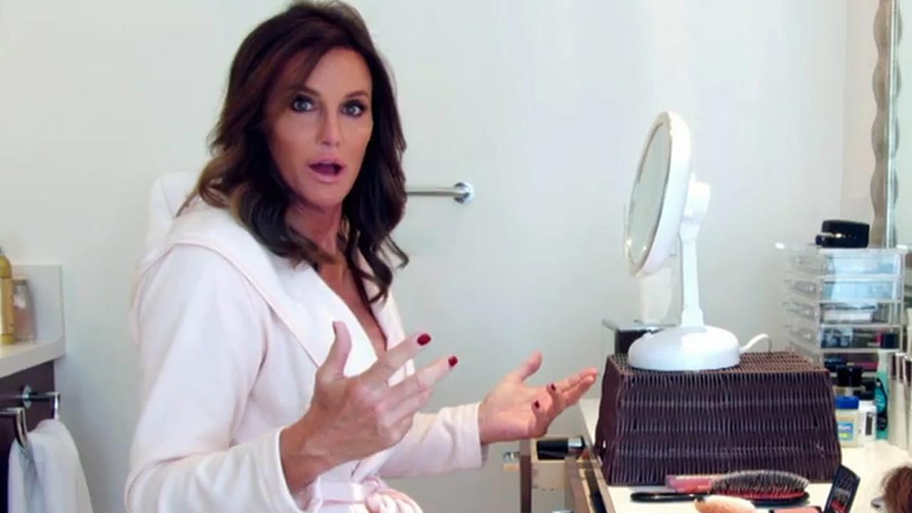This 2015 image provided by courtesy of E! shows Caitlyn Jenner in the first official promotional trailer for the new documentary series, I Am Cait, in Southern California.