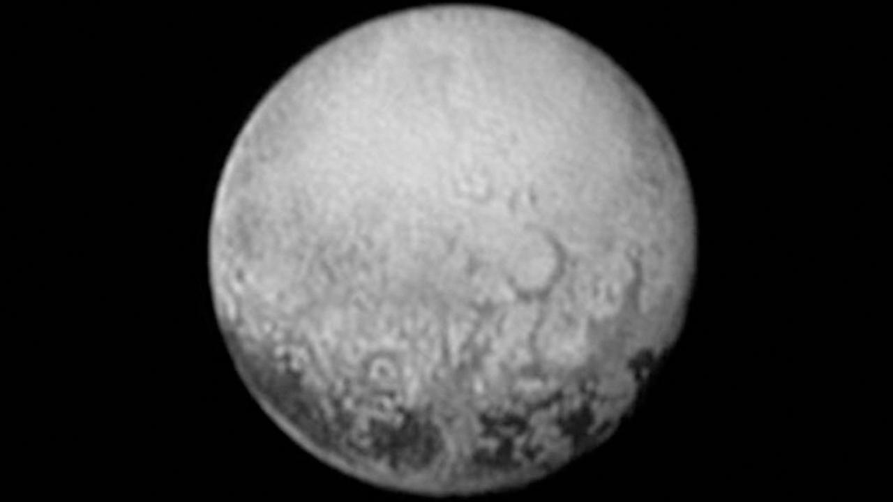 This July 11, 2015, image provided by NASA shows Pluto from the New Horizons spacecraft.