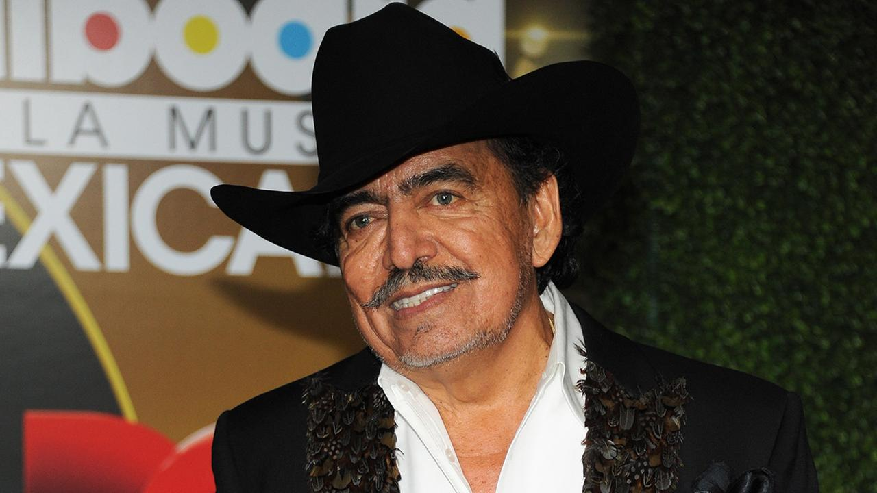 Joan Sebastian attends the press room at the 3rd Annual Billboard Mexican Awards at The Dolby Theatre on Wednesday, Oct. 9, 2013 in Los Angeles.Photo by Richard Shotwell/Invision/AP