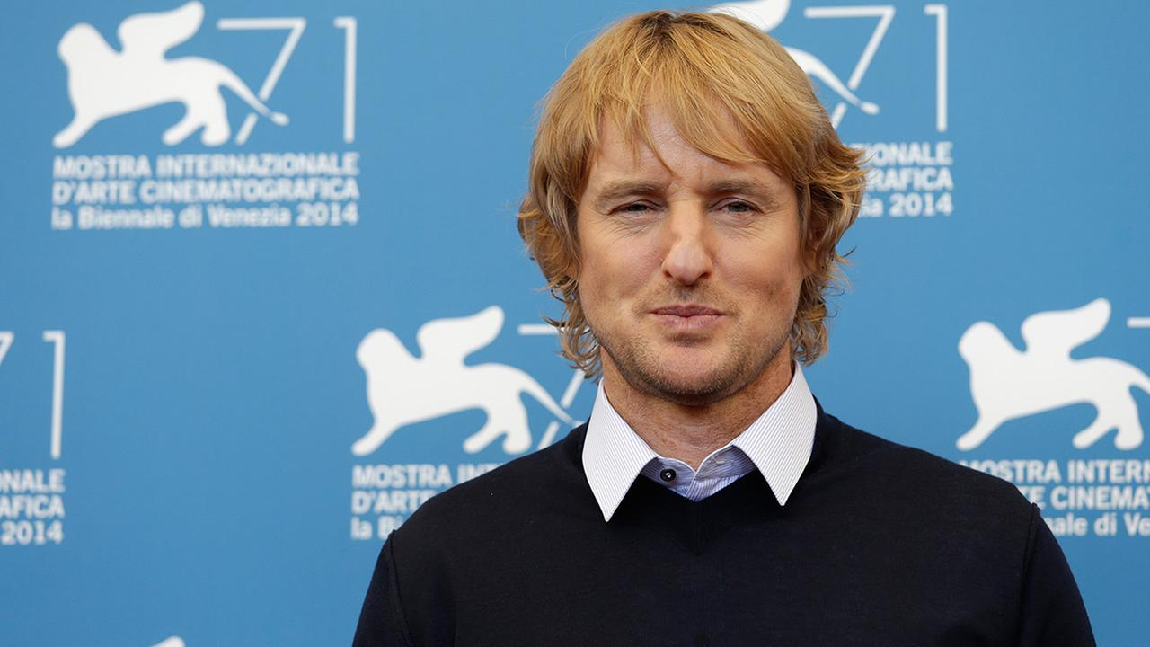 Actor Owen Wilson poses during the photo call for the movie Shes Funny That Way at the 71st edition of the Venice Film Festival in Venice, Italy, Friday, Aug. 29, 2014.