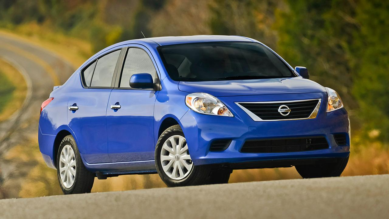 This photo provided by Nissan shows the 2013 Nissan Versa.