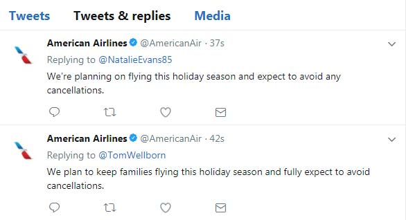 Report: American Airlines glitch causes pilot shortage on thousands of flights over holidays