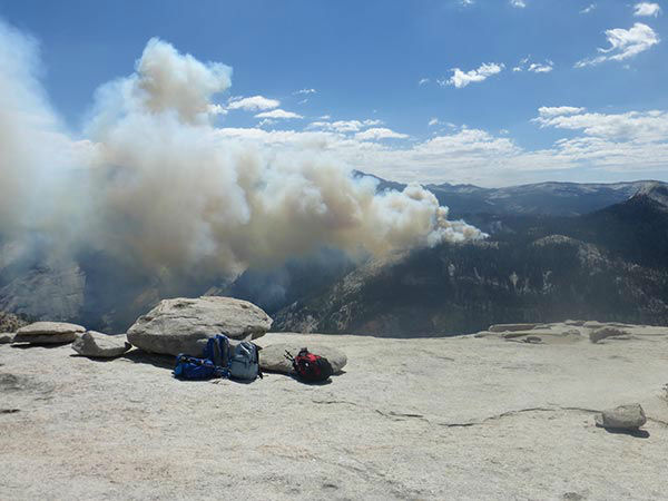 <div class='meta'><div class='origin-logo' data-origin='none'></div><span class='caption-text' data-credit='KFSN Photo/ Lechner family'>Photos from the Lechner family of San Diego during their Half Dome hike on Sunday, September 7, 2014.</span></div>