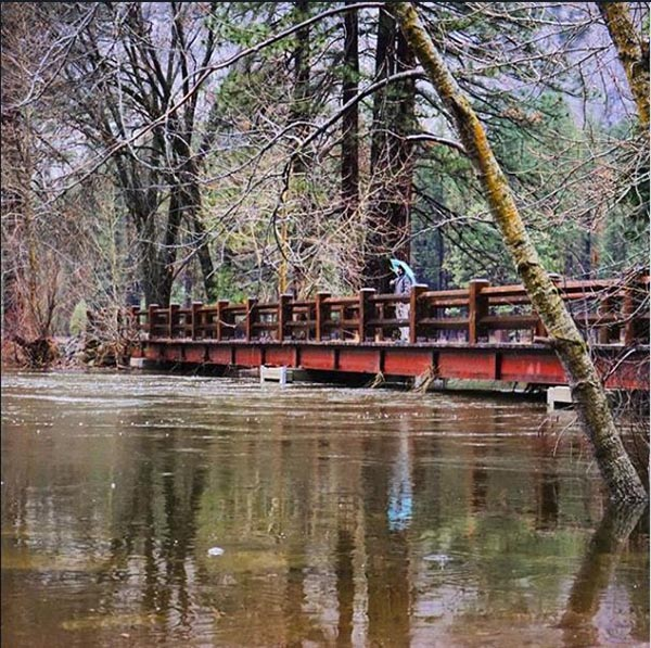 <div class='meta'><div class='origin-logo' data-origin='none'></div><span class='caption-text' data-credit='Christina Adele'>The Swinging Bridge in Yosemite National Park on Monday</span></div>