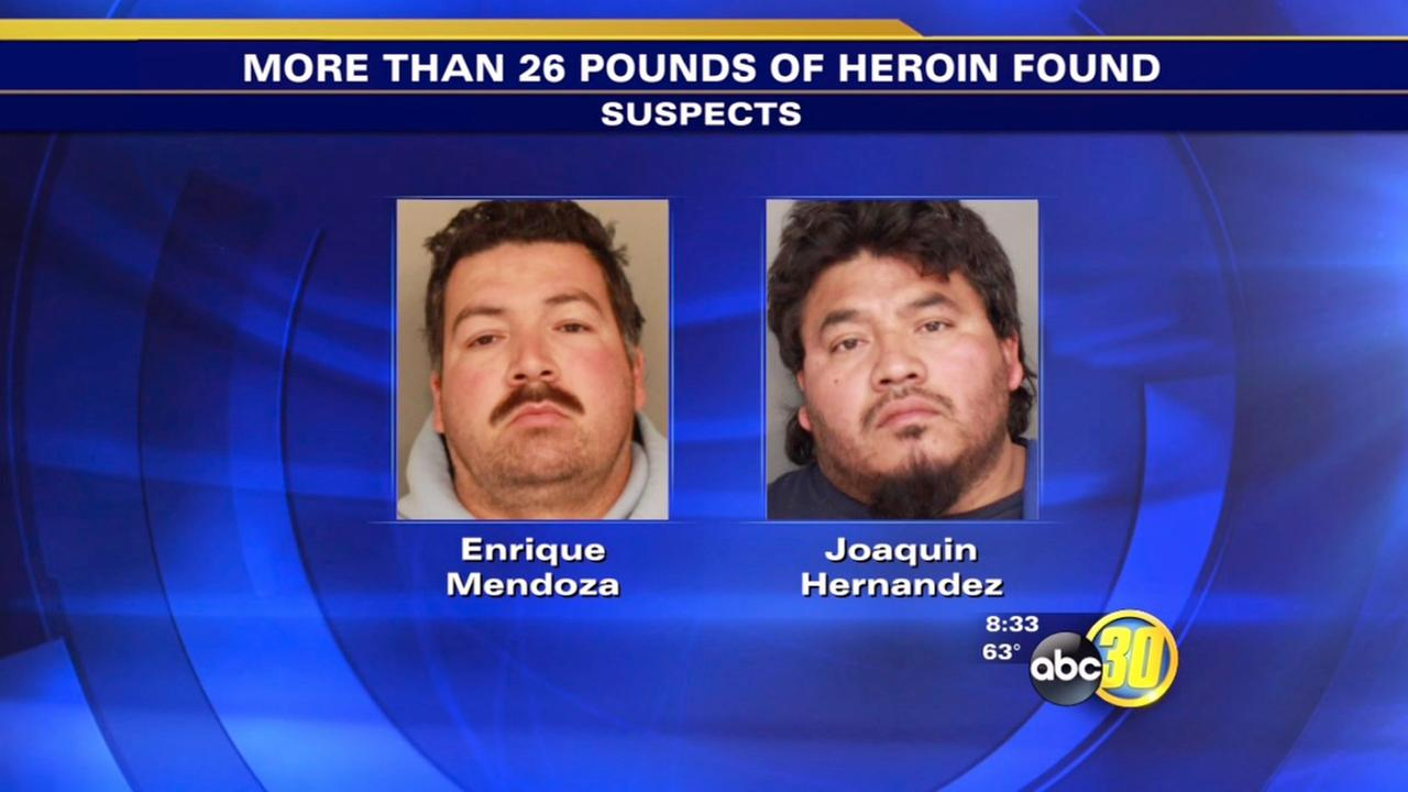 2 Fresno men arrested in New York for heroin possession