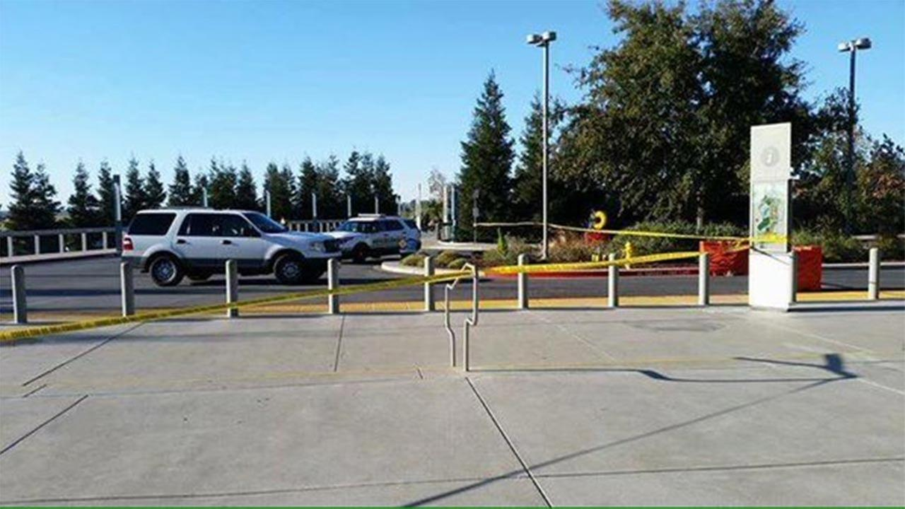 A look at the scene at UC Merced as law enforcement investigates an early morning stabbing.Amanda Venegas
