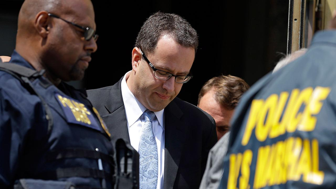 Former Subway pitchman Jared Fogle leaves the Federal Courthouse in Indianapolis, Wednesday, Aug. 19, 2015