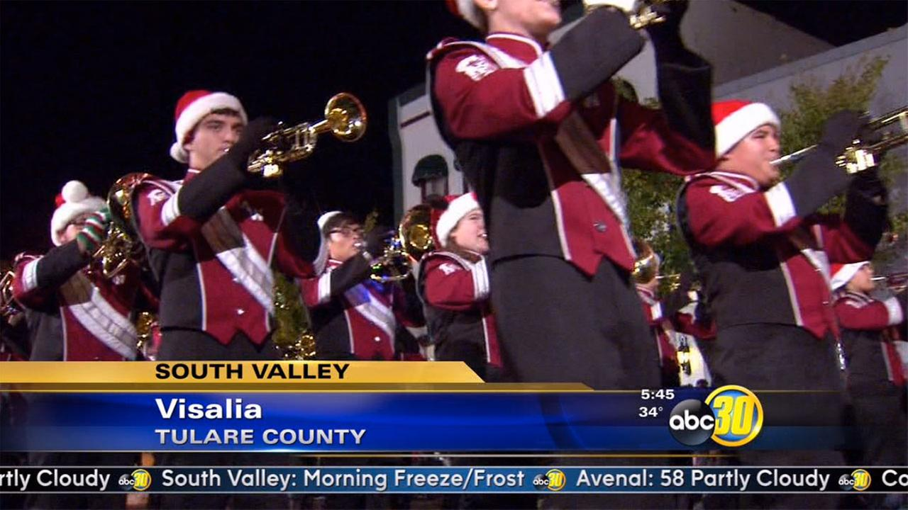Candy Cane Lane Parade will soon fill the streets of Visalia ...
