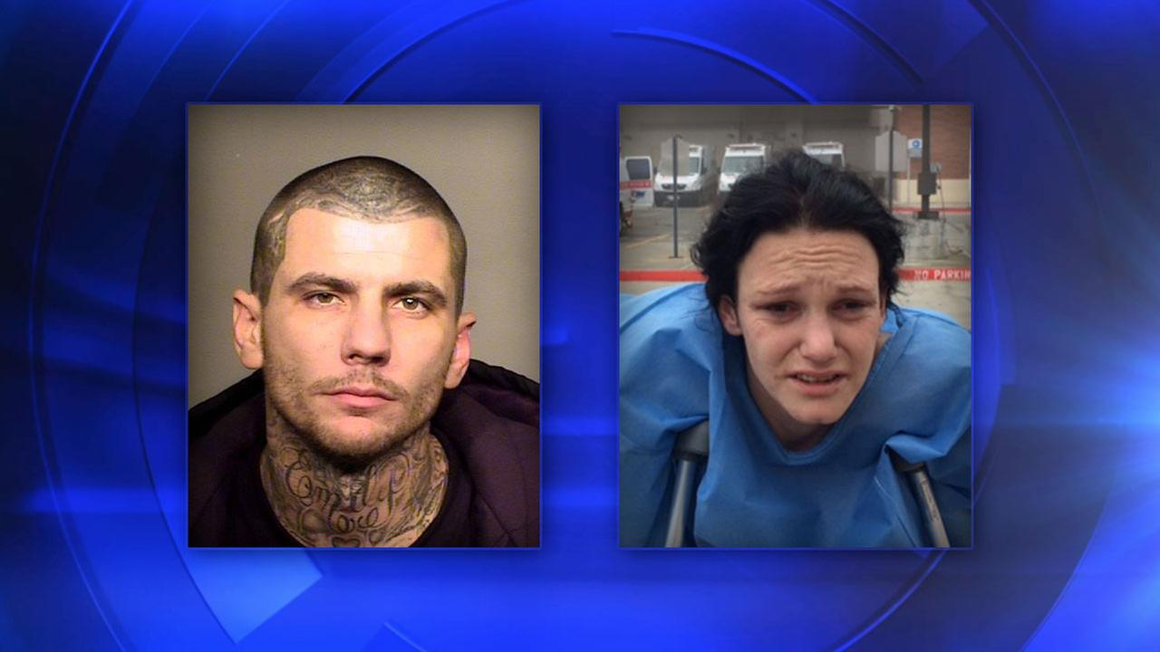 Suspects 32-year-old Jeremy Lynd and 31-year-old Bobbie-Sue Alexandra Nicole Sevier