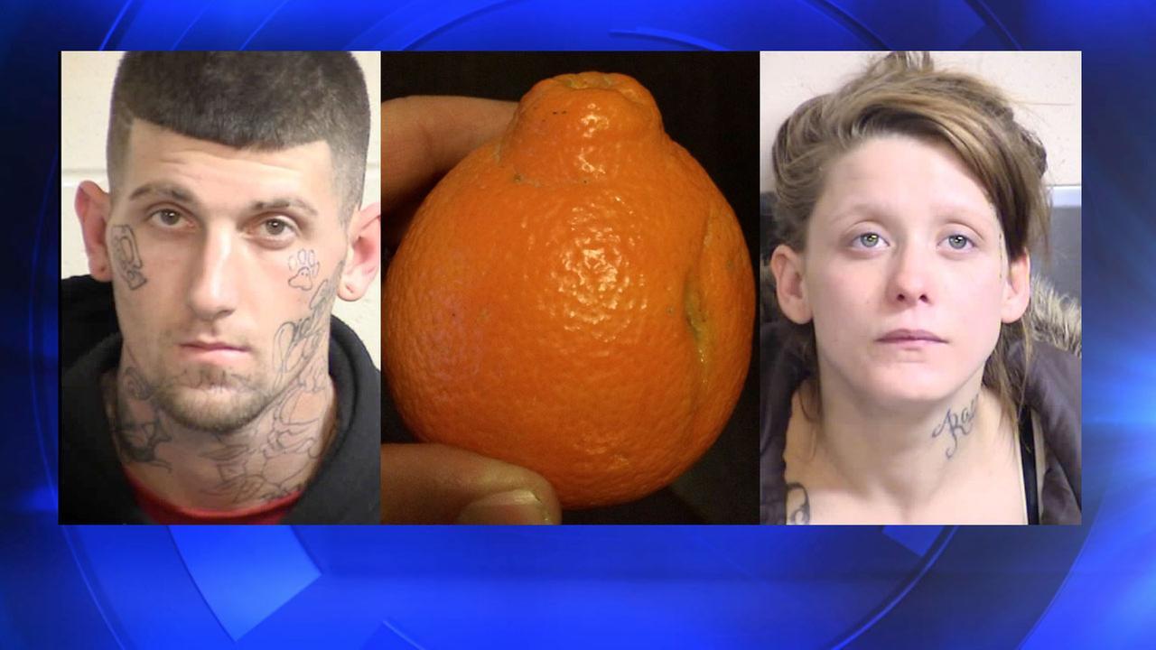 22-year-old Patrick Kasper, 20-year-old girlfriend Dianna Henson. Tangelos, a unique citrus fruit
