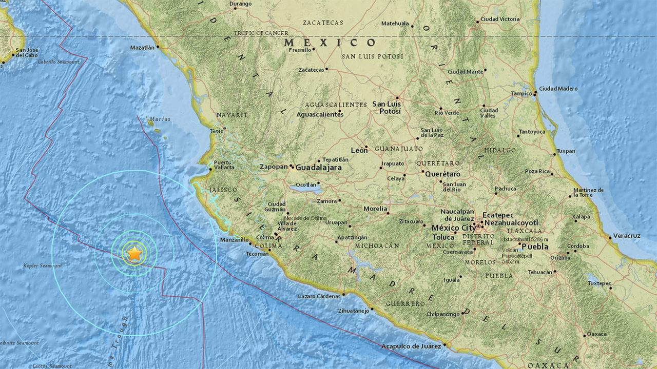 6.6 earthquake strikes off the coast of Mexico