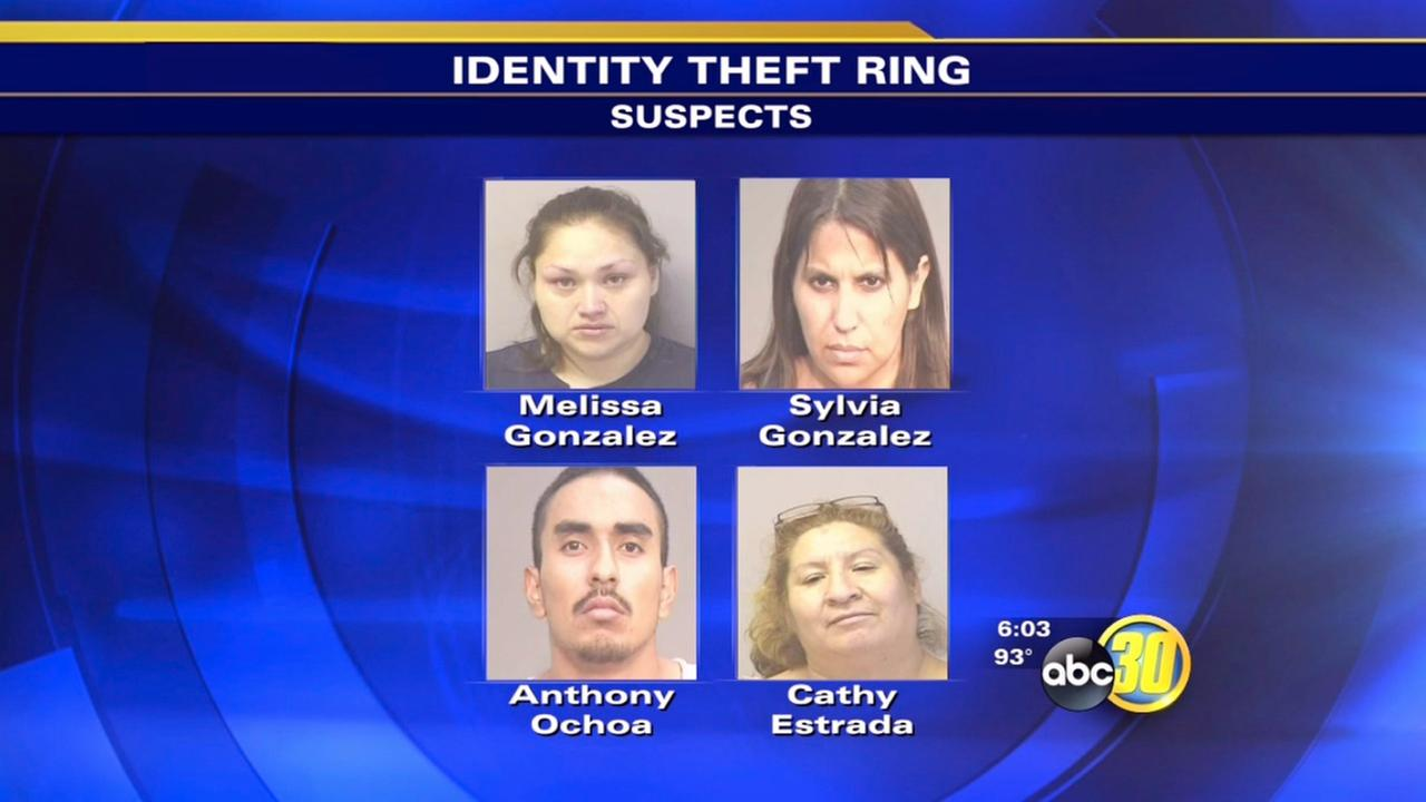 Mendota police arrest 4 in massive ID theft ring