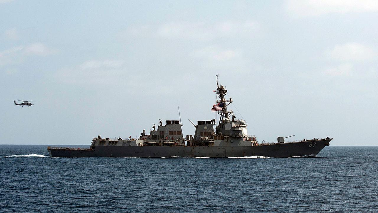 (Mass Communication Specialist 1st Class Blake Midnight/U.S. Navy via AP)