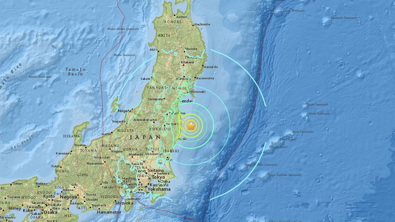 Japan lifts tsunami warning after magnitude 7.4 earthquake off Fukushima coast