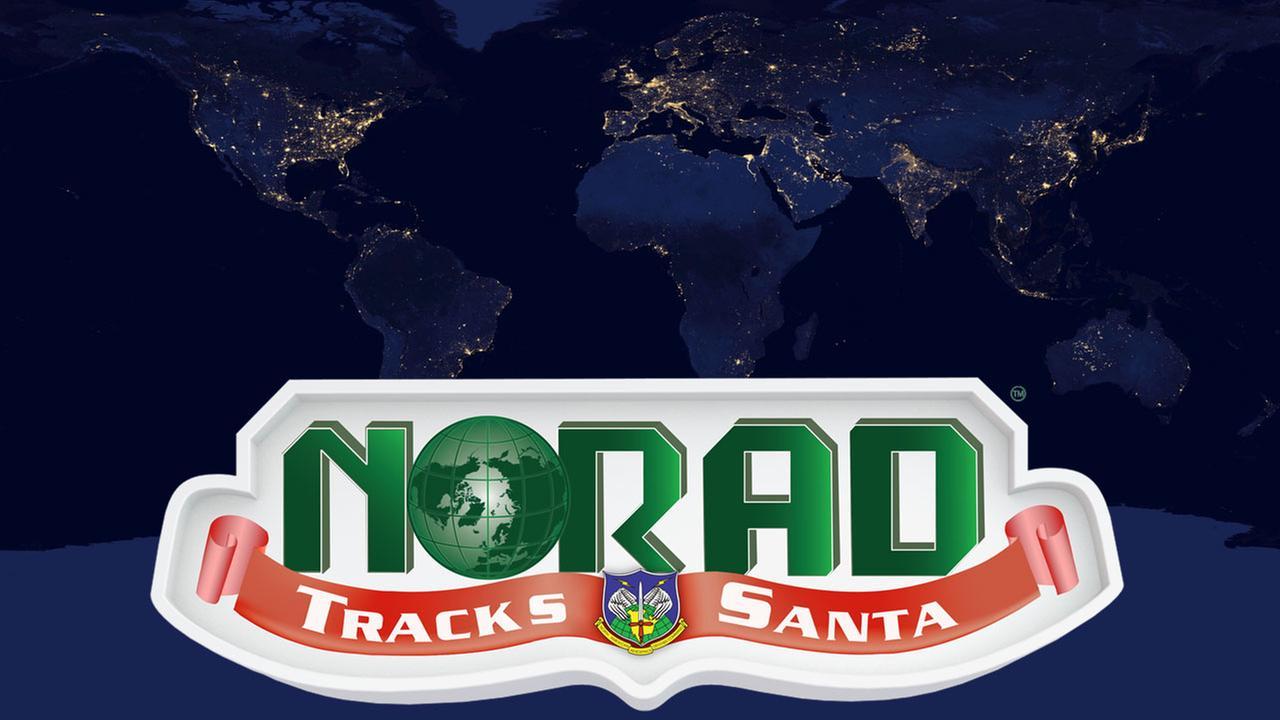 Track Santa Claus across the globe with the NORAD Santa Tracker