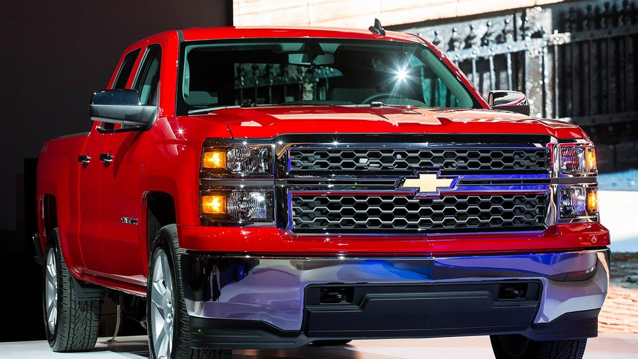 The Chevrolet 2015 Silverado Custom is unveiled during the media preview of the Chicago Auto Show at McCormick Place in Chicago