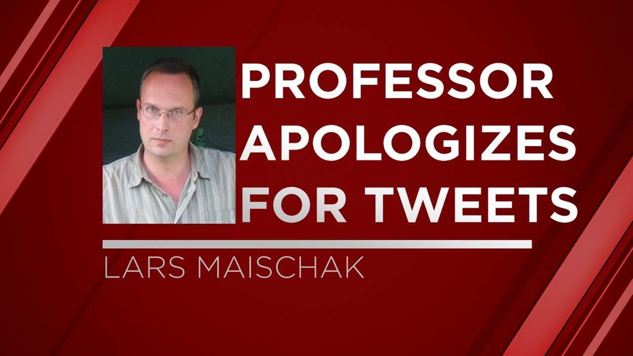 California professor apologizes for anti-Trump tweet